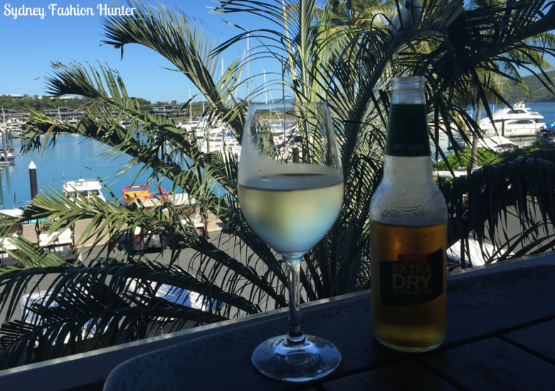 Sydney Fashion Hunter: Hamilton Island Wining & Dining - Marina Tavern Drinks