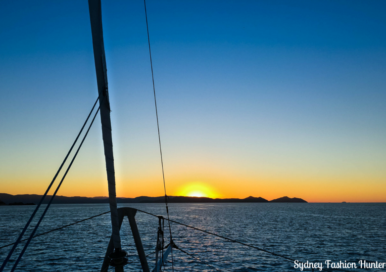 Sydney Fashion Hunter: On The Edge Cruise Hamilton Island - Sunset