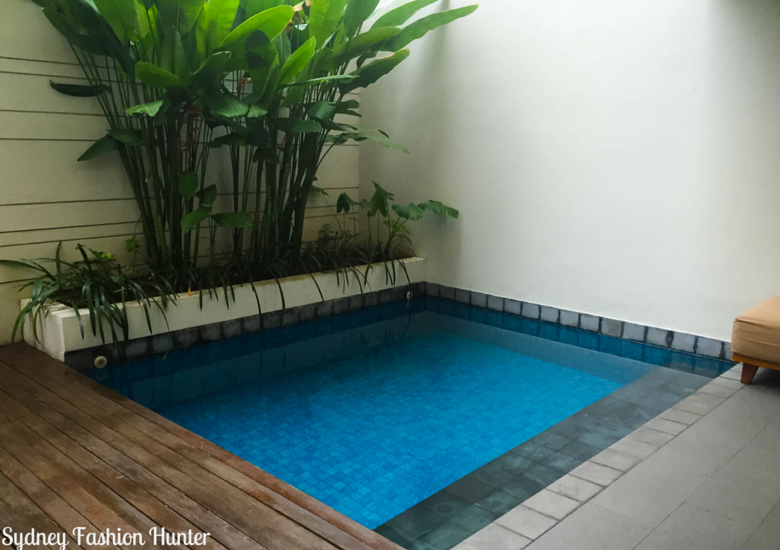 Sydney Fashion Hunter: The Magani Hotel Bali Review - Private Pool