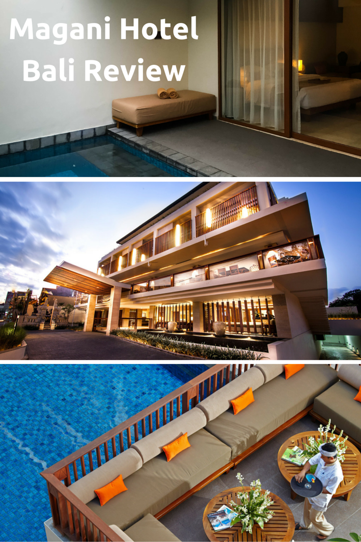 Looking for an oasis of calm amid crazy Legian? The Magani hotel is perfect. And it's great value to boot! Full review and all the essential details on the blog.  http://flightstofancy.com/2016/07/magani-hotel-bali-review.html