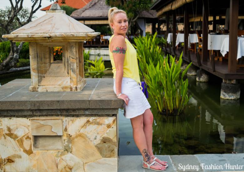 Sydney Fashion Hunter: Fresh Fashion Forum 42 - Asymmetric Yellow Halter Top