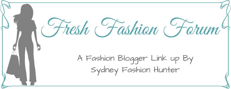 Fash Packing by Sydney Fashion Hunter: Fresh Fashion Forum Banner