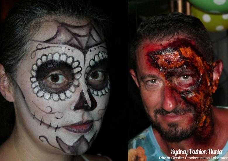 Fash Packing by Sydney Fashion Hunter: Frankensteins Laboratory Bali - Make Up