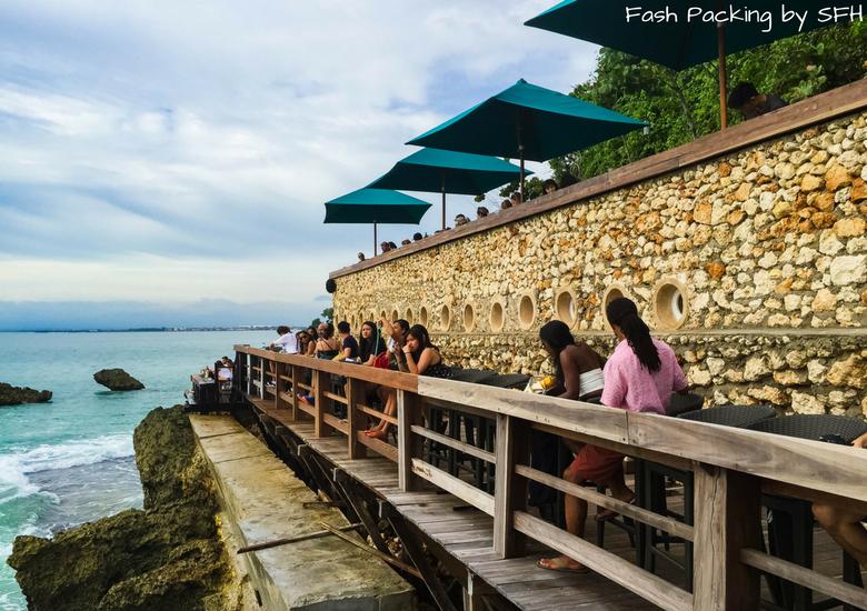 Fash Packing by Sydney Fashion Hunter: Rock Bar Jimbaran Bali - Bottom Bar