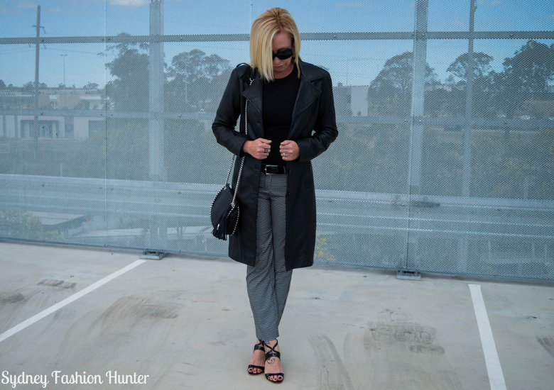 Sydney Fashion Hunter: Fresh Fashion Forum 46 - Black Leather Coat - Front2