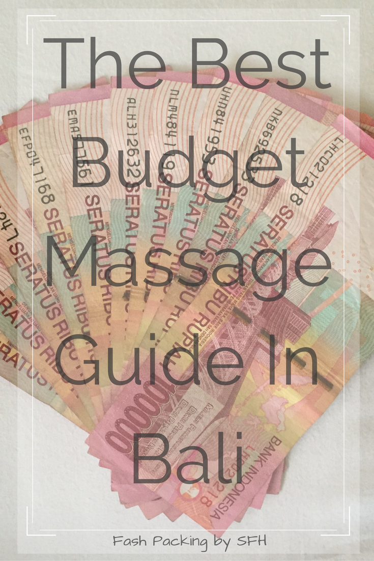 Massages in Bali are affordable and are the perfect daily treat to ensure total relaxation. Don't know your Aromatherapy from your Lomi Lomi. My budget guide will sort your out. http://bit.ly/bali-massage