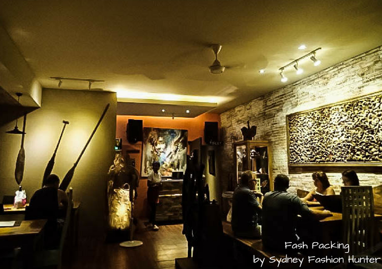 Fash Packing by Sydney Fashion Hunter: Warung Kultur Seminyak - Interior