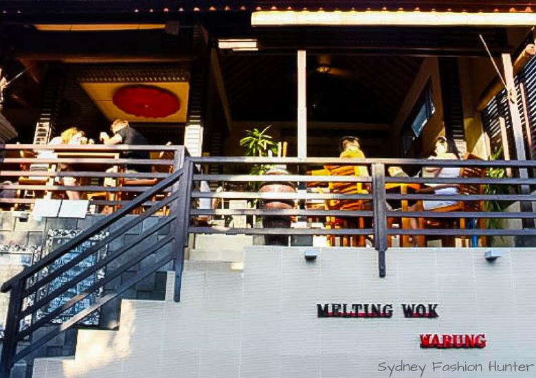 Fash Packing by Sydney Fashion Hunter: Melting Wok Ubud Bali Exterior