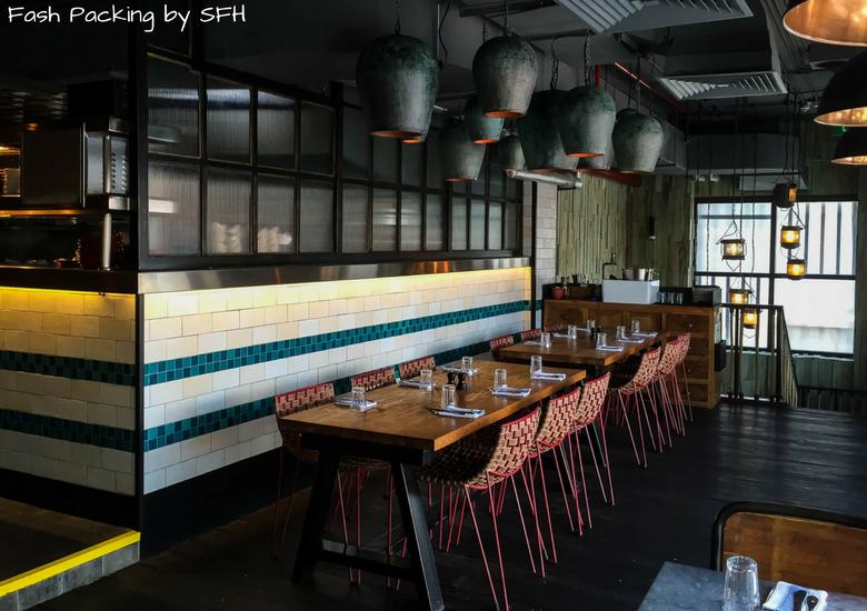 Fash Packing by Sydney Fashion Hunter: Restaurant Review - Jamie's Italian Kuta Bali -Kitchen & Upstairs