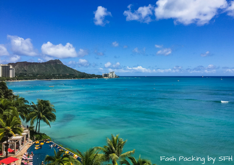Fash Packing by Sydney Fashion Hunter: Sheraton Waikiki Review - View