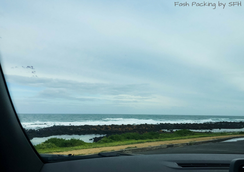 Fash Packing by SFH: Road Trippin' Australia's Iconic Great Ocean Road - Beach Through The Windscreen