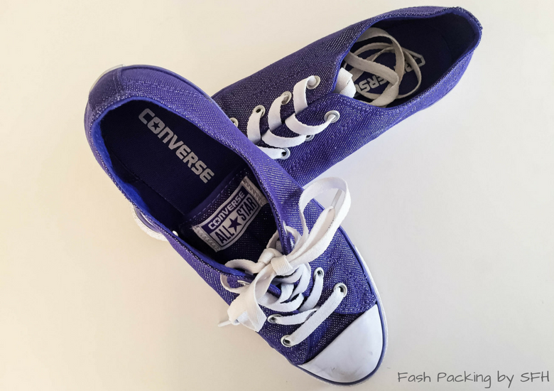 Fash Packing by Sydney Fashion Hunter: Waikele Premium Outlets Purple Converse