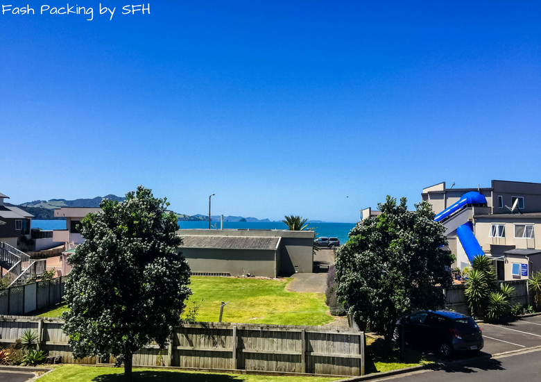 Fash Packing by SFH: Beachside Resort Whitianga New Zealand - View From The Balcony