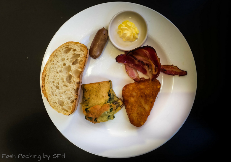 Fash Packing by SFH: CityLife Auckland Review - Breakfast 1st Plate