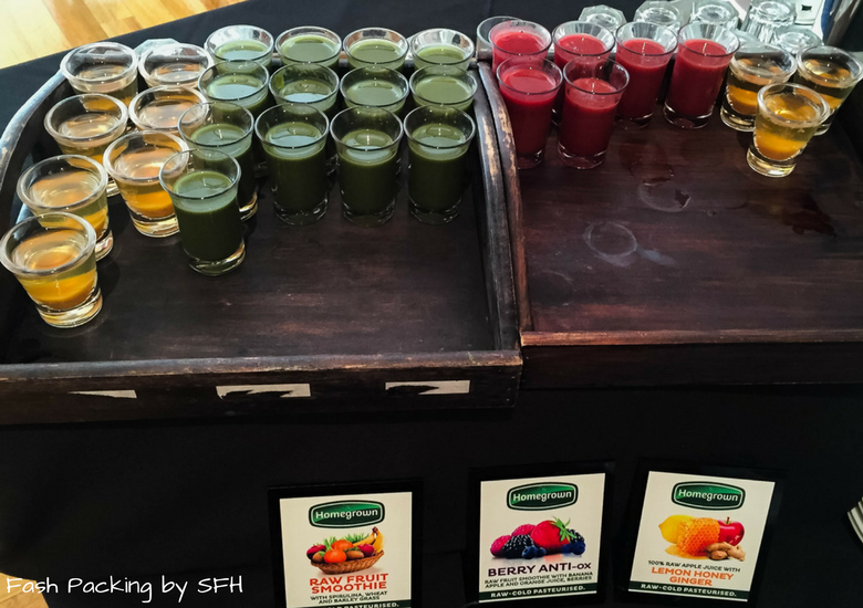 Fash Packing by SFH: CityLife Auckland Review - Breakfast Juice Shots