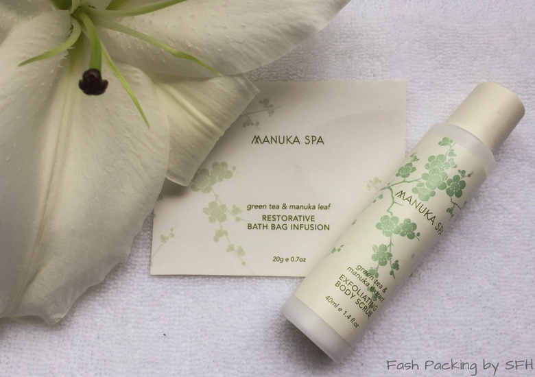 Fash Packing by SFH: CityLife Auckland Review - Manuka Spa Toiletries