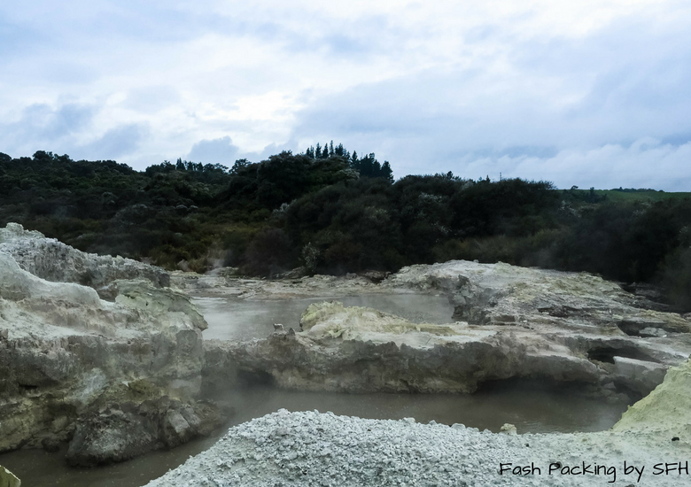 Fash Packing by SFH: Hells Gate Rotorua New Zealand