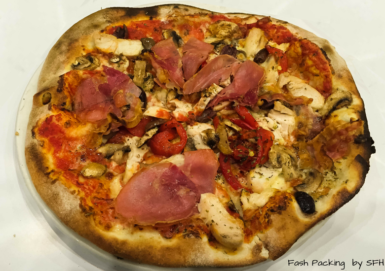 Fash Packing by SFH: Mercadante Wood Fired Pizzeria Melbourne - Pizza