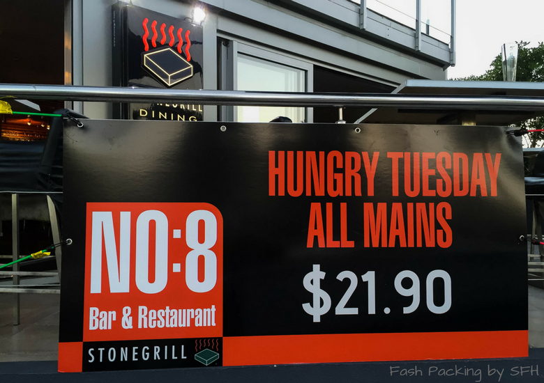 Fash Packing by SFH: No.8 Bar & Restaurant Whitianga - Hungry Tuesday