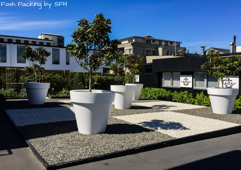 Fash Packing by SFH: Regent Of Rotorua A Boutique Hotel - Plant Pots