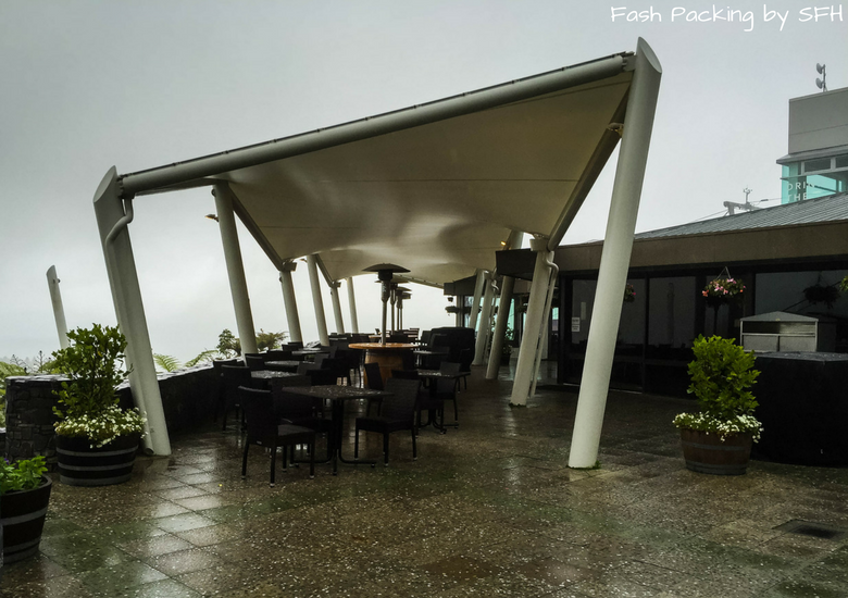 Fash Packing by SFH: Skyline Rotorua Stratosfare Restaurant Outdoor Terrace
