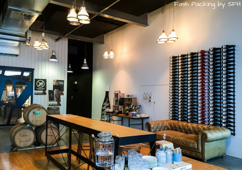 Fash Packing by SFH: Skyline Rotorua Stratosfare Restaurant - Volcanic Hills Winery Wine Wall