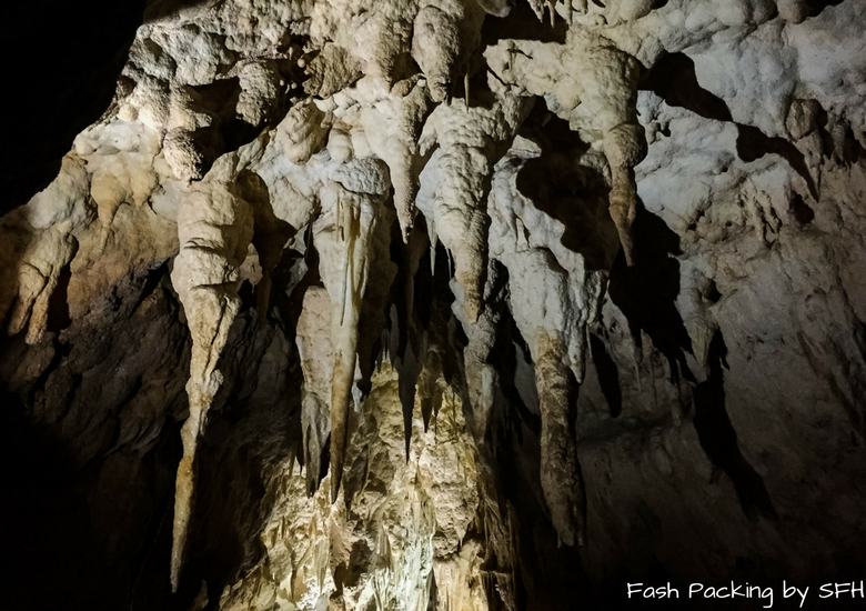 Fash Packing by SFH: Waitomo Caves