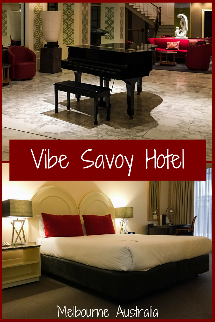 The Vibe Savoy Melbourne is centrally located, full of old world charm and exceptional value. This Melbourne Hotel Review will tell you everything you need to know before you go. http://bit.ly/vibe-Melb