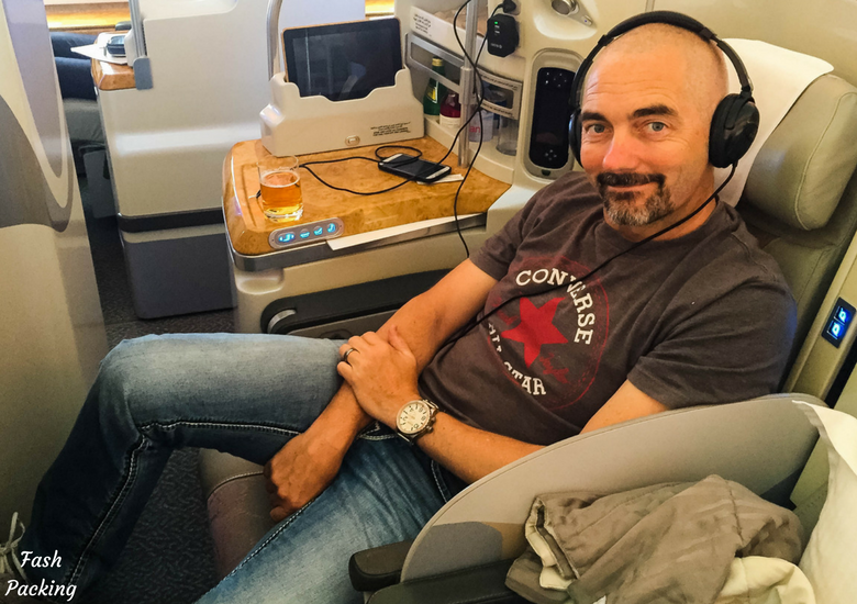 Fash Packing: Emirates A380 Business Class Review - The Hubs