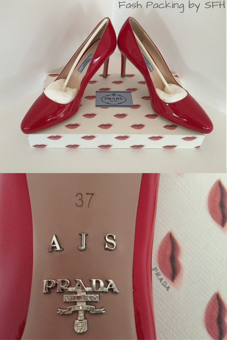 Did you know that Prada hold made to order events every year where you can custom design a pair of their fabulous shoes to your exact specifications? Come see what I made on the blog ... http://bit.ly/sfh-fff60