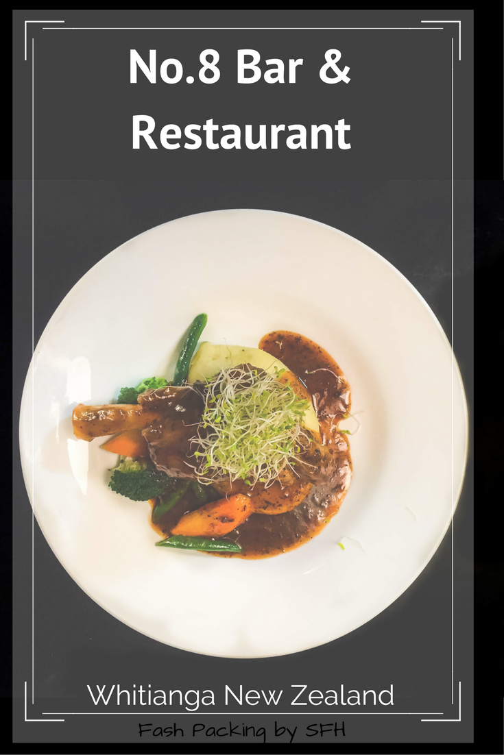 No.8 Bar & Restaurant Whitianga on New Zealand's Coromandel Peninsula is the only place to dine on the cheap on a Tuesday night. Who's hungry?