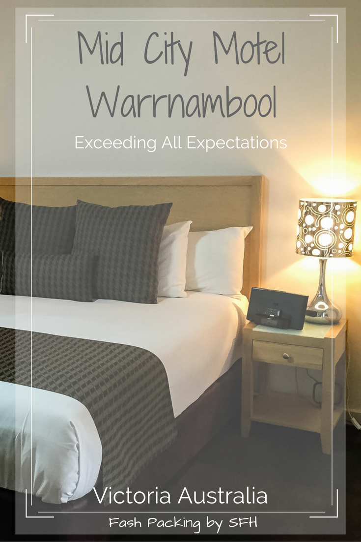 Think you are too fancy to stay in a motel? I did. And then I dicovered the Mid City Motel Warrnambool which exceeded my expectations in every way, If you are heading to Victoria's famous Great Ocean Road you really need to check this out http://bit.ly/mid-city