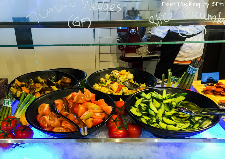 Fash Packing by SFH: Skyline Rotorua Stratosfare Restaurant Salad Bar