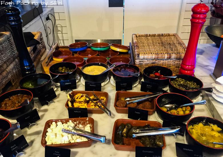 Fash Packing by SFH: Skyline Rotorua Stratosfare Restaurant Salad Bar