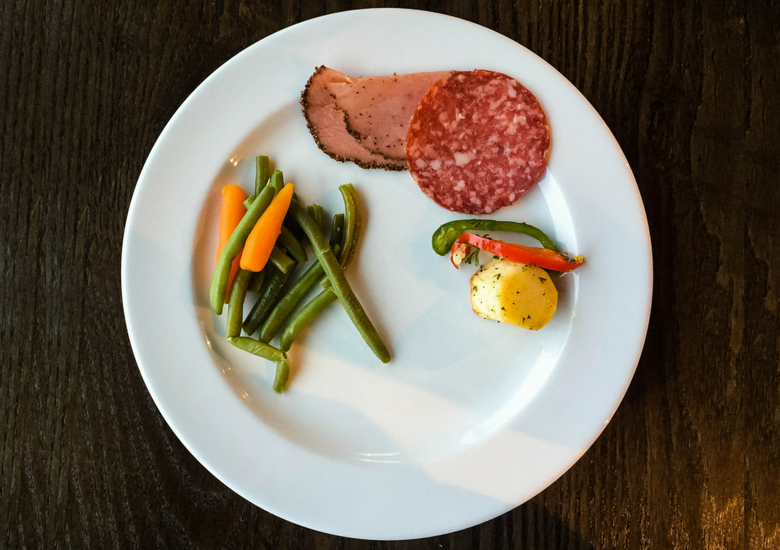 Fash Packing by SFH: Skyline Rotorua Stratosfare Restaurant - Salami, Ham & Veges
