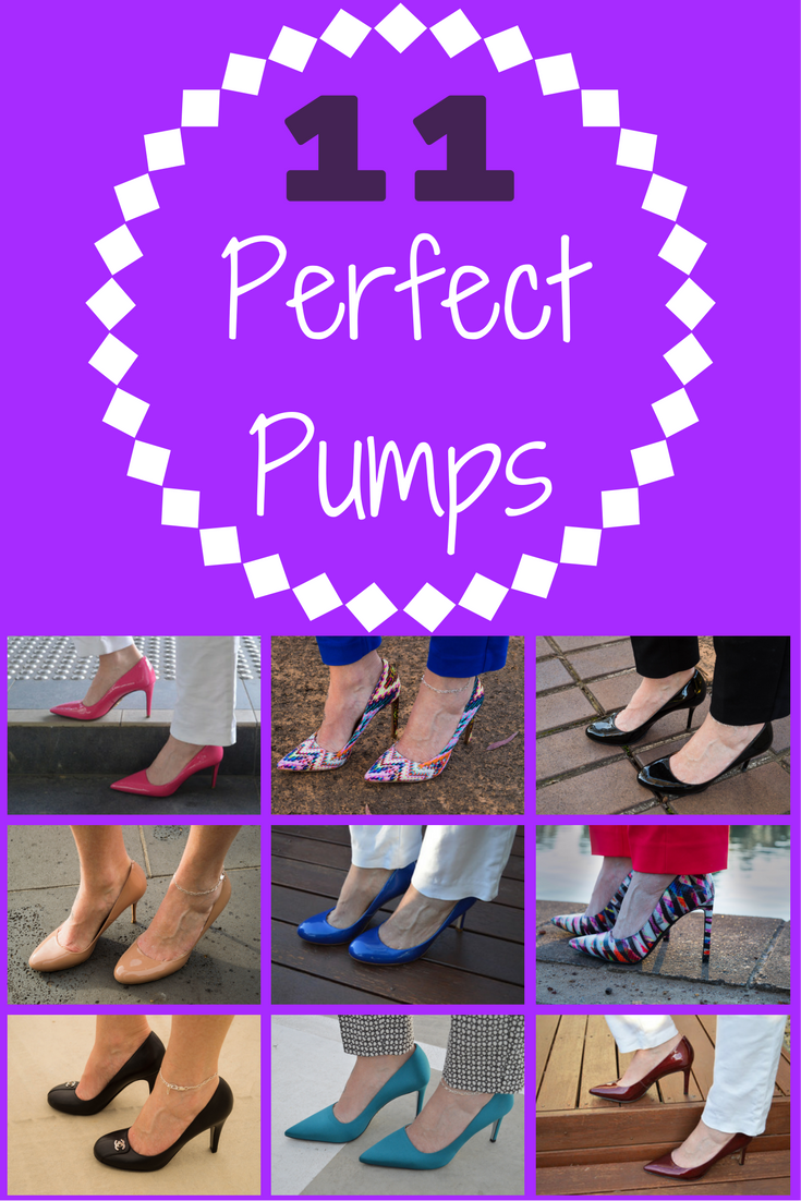 Pumps are perfect for the office. They're sleek, comfy (mostly) and they mean business. Check out my 11 perfect pumps for inspiration. http://bit.ly/11perfectpumps