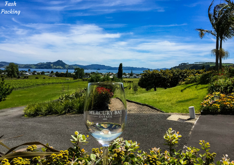 Fash Packing: New Zealand Road Trip 7 Day North Island Itinerary - Mercury Bay Winery White