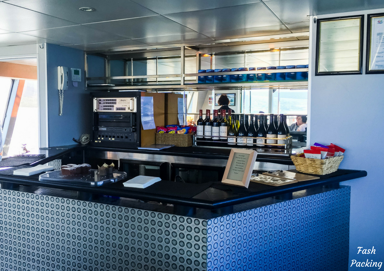 Fash Packing: Wineglass Bay Cruises Tasmania Exclusive Sky Lounge Experience - Bar