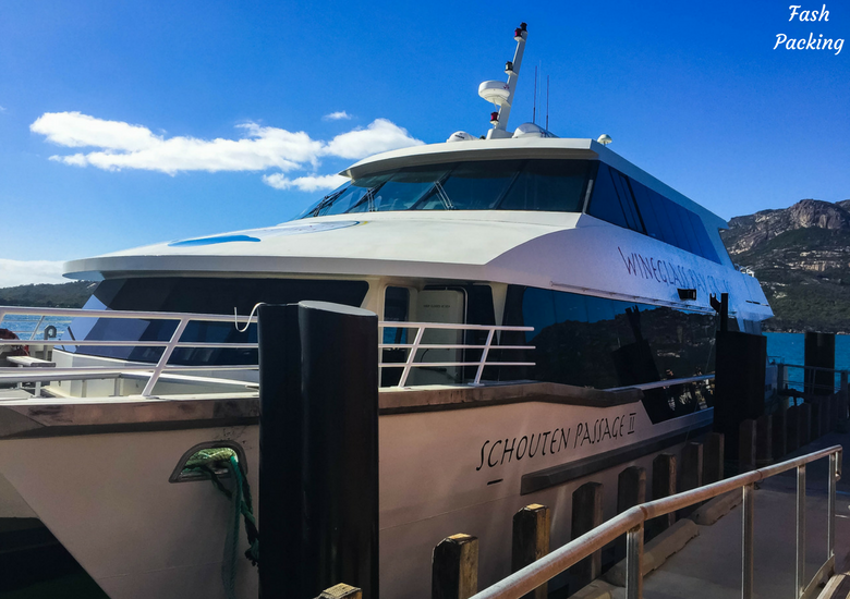 Fash Packing: Wineglass Bay Cruises Tasmania Exclusive Sky Lounge Experience - Schouten Passage II
