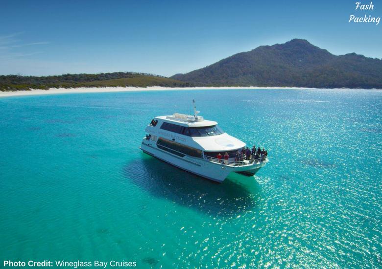 Fash Packing: Wineglass Bay Cruises Tasmania - Vessel