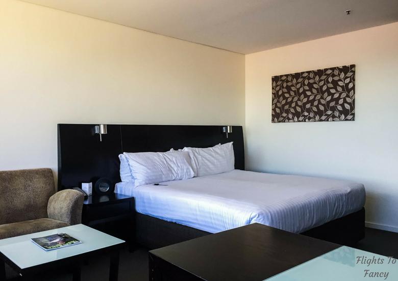 Flights To Fancy: Grand Chancellor Hotel Hobart - Bedroom