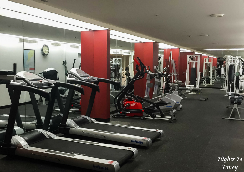 Flights To Fancy: Grand Chancellor Hotel Hobart - Gym
