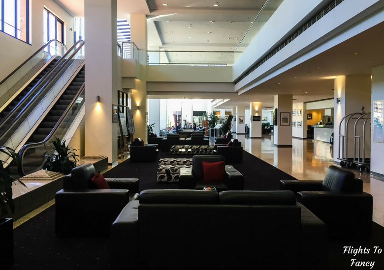 Flights To Fancy: Grand Chancellor Hotel Hobart - Reception