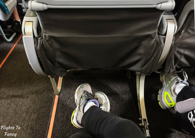 Flights To Fancy: Jetstar A320 Economy Class Review JQ745 SYD-LST - Jetstar A320 Legroom