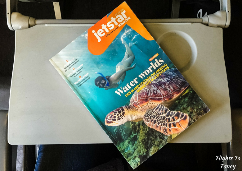Flights To Fancy: Jetstar A320 Economy Class Review JQ745 SYD-LST - Magazine