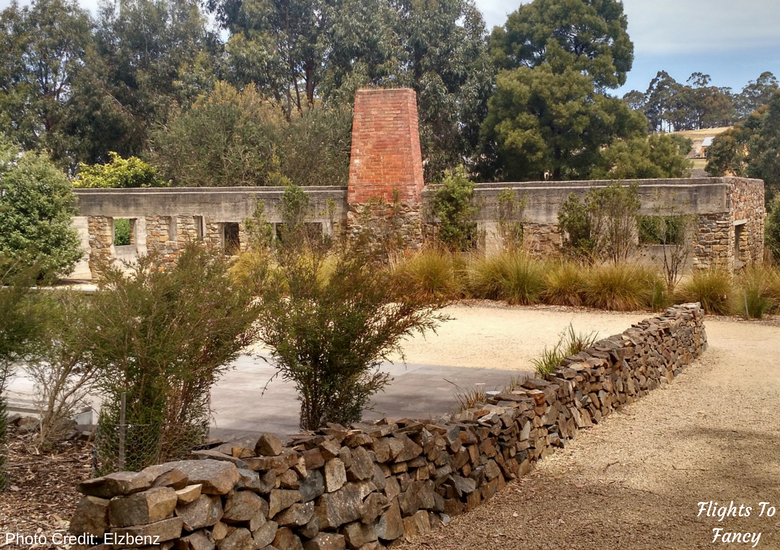 Flights To Fancy: Port Arthur Historic Site Tasmania - Memorial Garden Photo Credit: Elzbenz