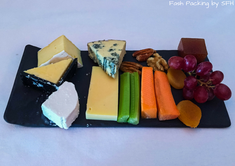 Fash Packing by SFH: Emirates A380 First Class Review EK419 Auckland to Sydney - Cheese Board