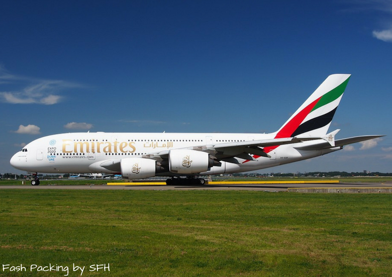 Fash Packing by SFH: Emirates A380 First Class Review EK419 Auckland to Sydney - Emirtaes A380