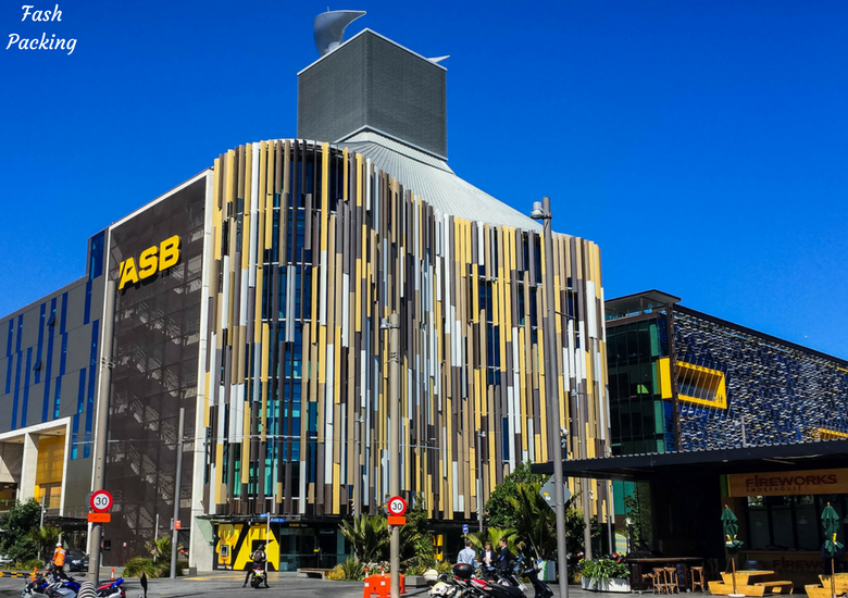 Fash Packing: A Stroll Through Auckland CBD & Viaduct Harbour - Auckland Viaduct Harbour ASB Building