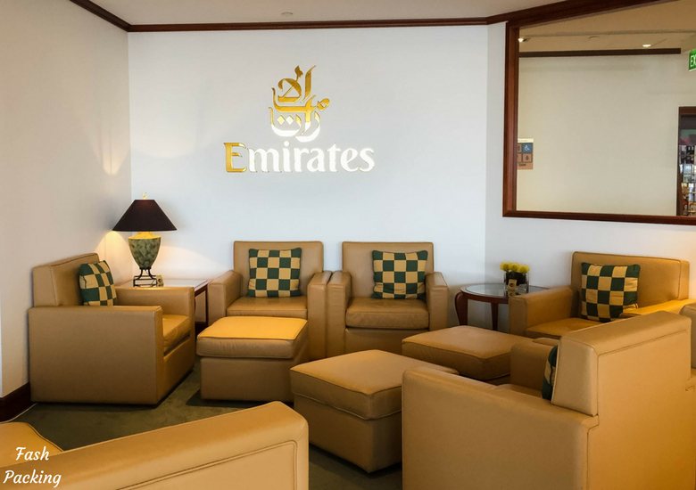 Fash Packing: Emirates Lounge Sydney International Airport Review - Lounge Chairs